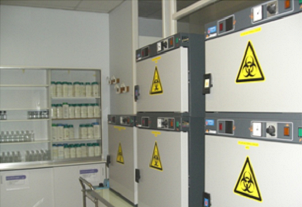 Laboratoire de microbiologie